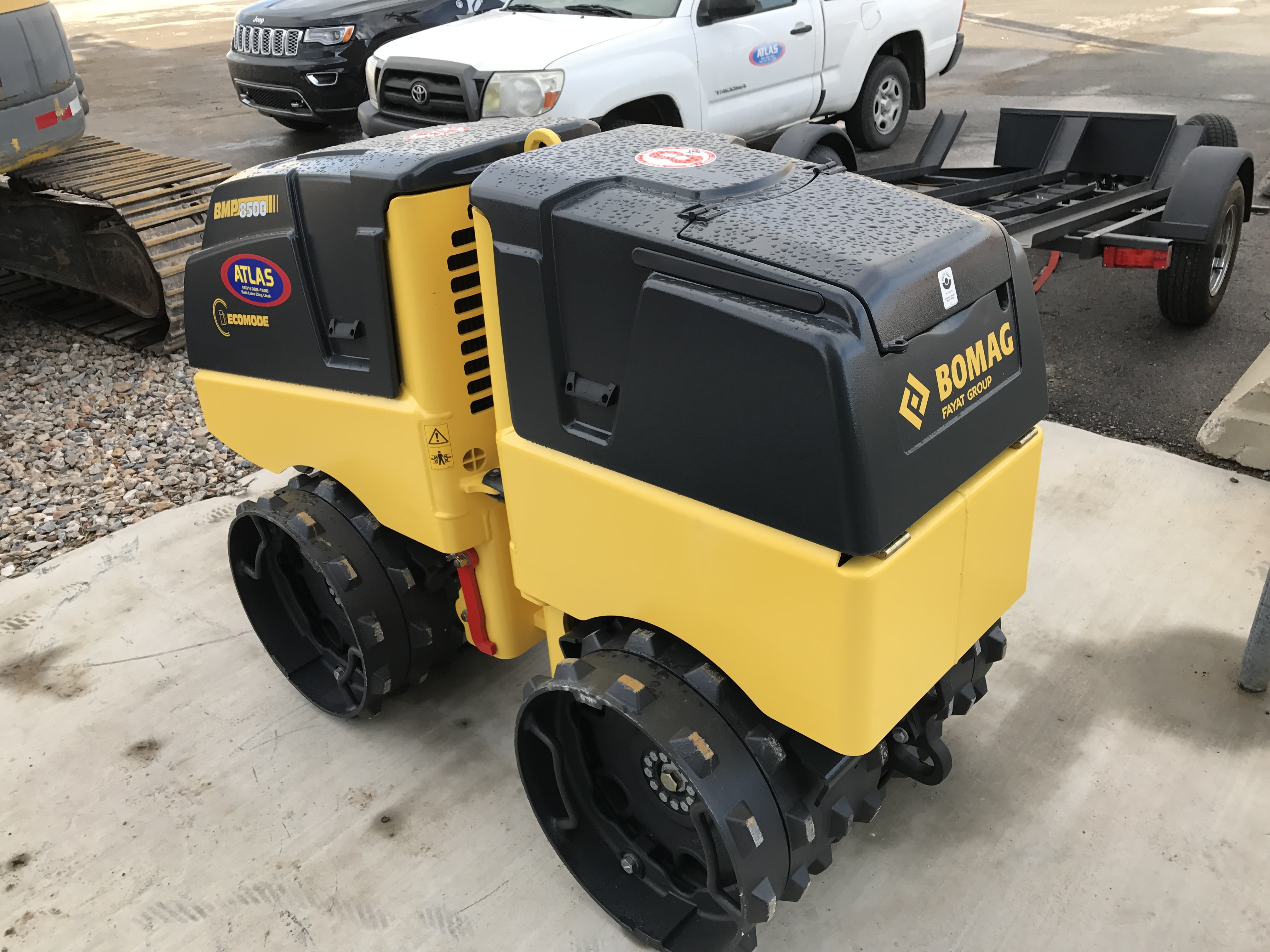 Bmp 8500 Walk Behind Compactor Dogface Heavy Equipment Sales
