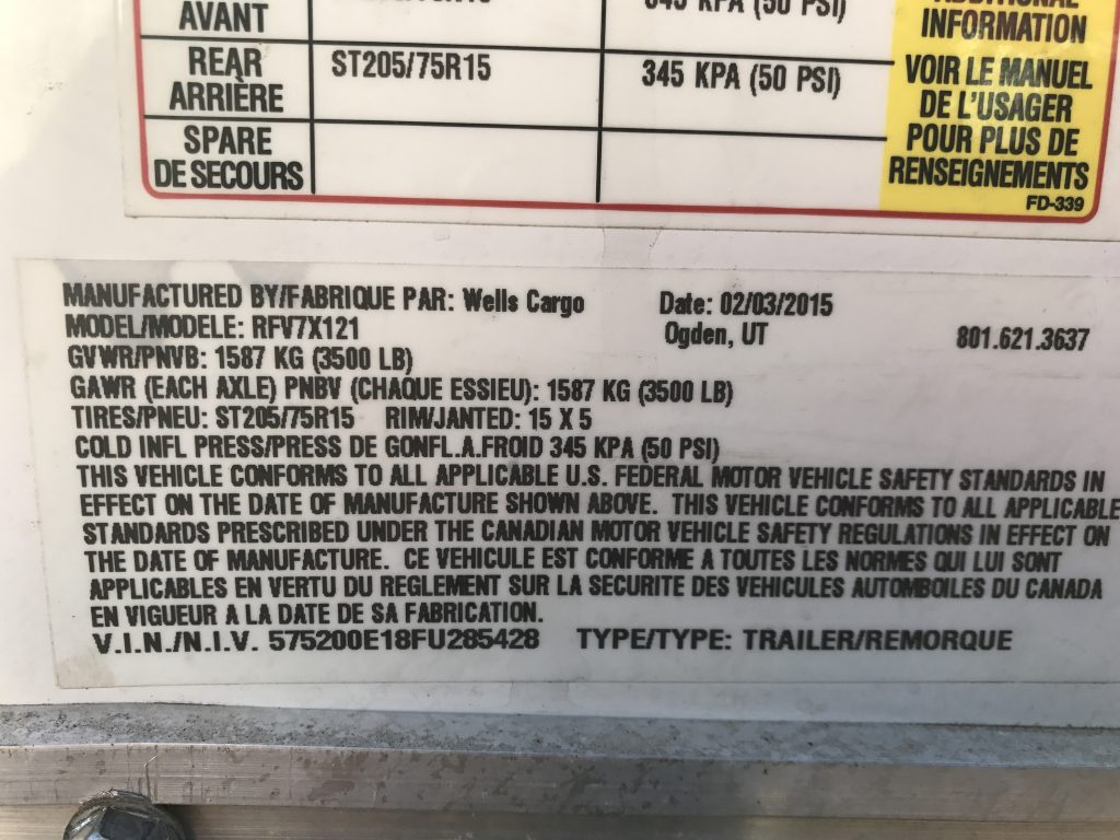 Cargo Trailer - Dogface Heavy Equipment Sales