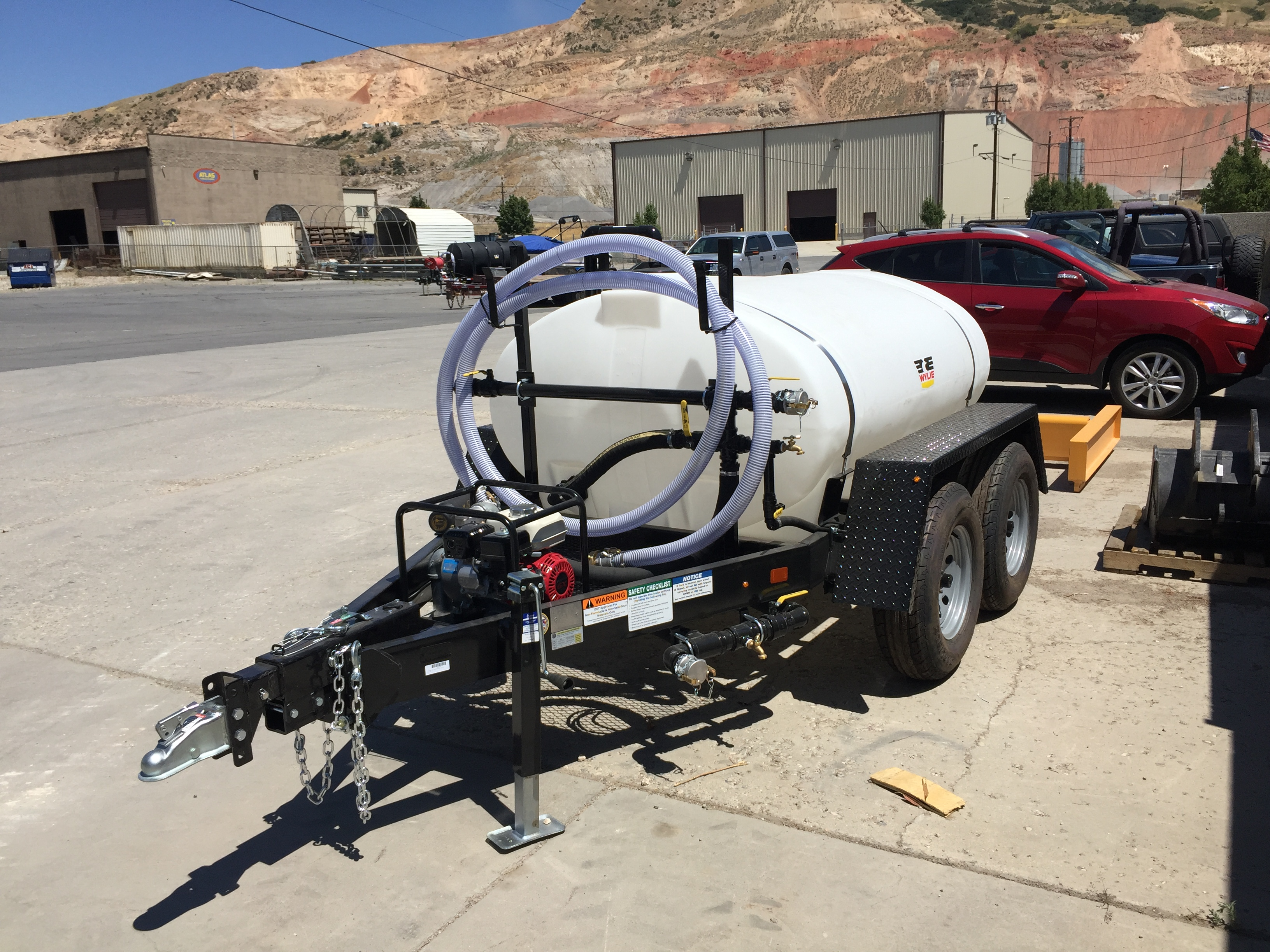 500 Gallon Water Trailer : Dogface Heavy Equipment Sales