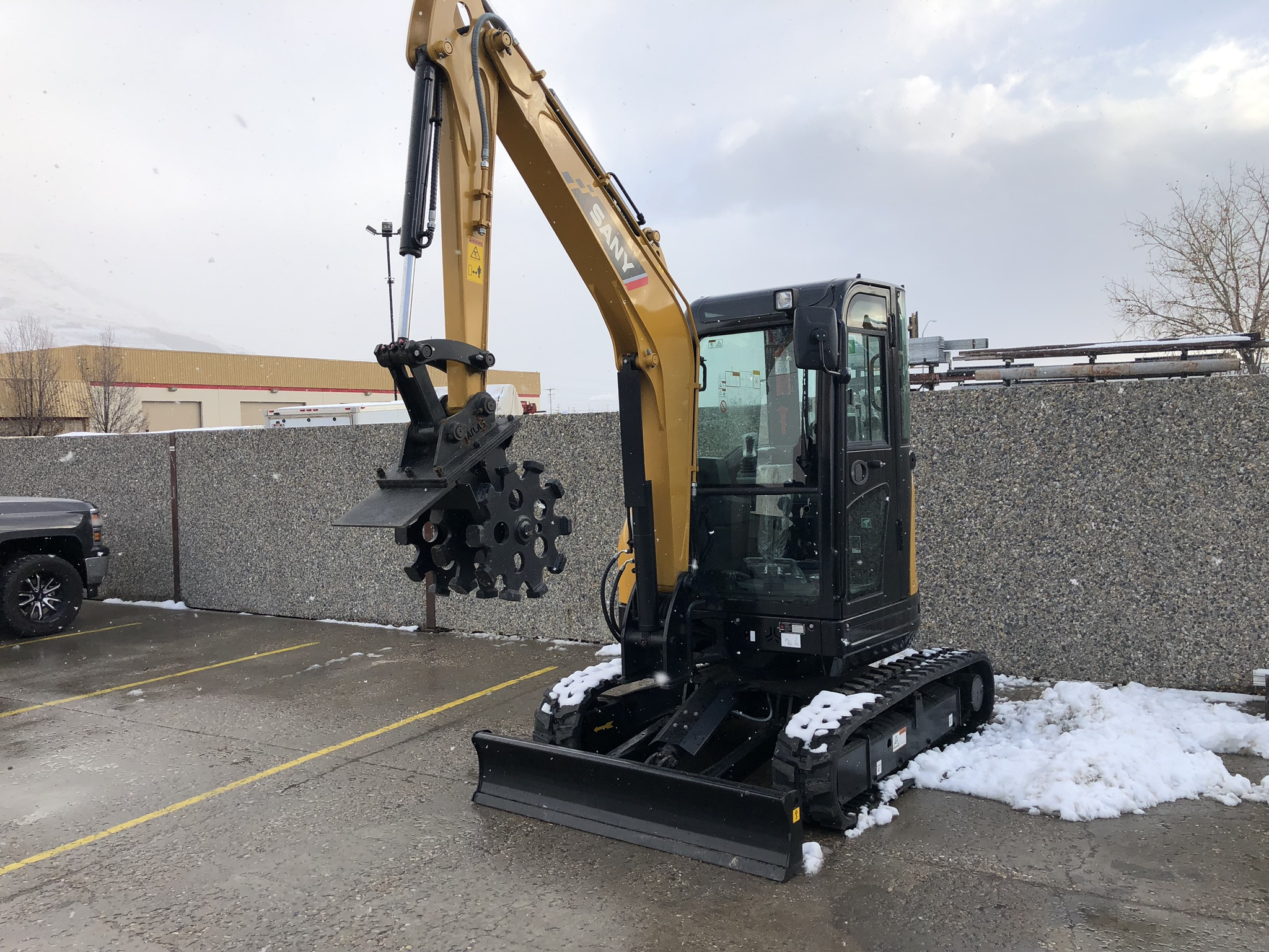 Sany SY35U | Utah, Nevada, Idaho | Dogface Equipment : Dogface Heavy
